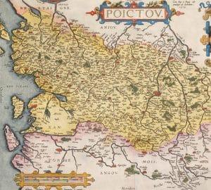 carte de Rogier 1579. Il y a 4 petites iles près de celle de St Martin
